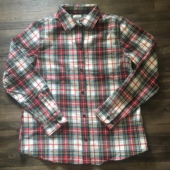 af23e6cbe7a72 Women s L.L. Bean Relaxed Fit Tartan Flannel Shirt